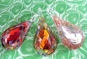 wholesale murano stone glass pendants