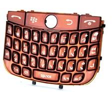blackberry javelin curve 8900 chrome keypad keyboard coffee