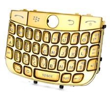 chrome keypad keyboard blackberry javelin curve 8900 gold