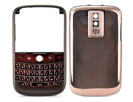 housing cover keypad coffee matte frame copper metal bold 9000