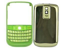 housing cover keypad green metal blackberry bold 9000