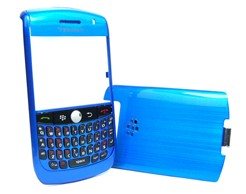 housing cover keypad metalic blue golden curve 8900