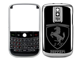 housing cover keypad frame metal ferrari blackberry bold 9000