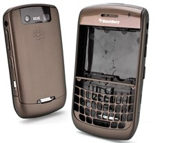 housing faceplate cover coffee blackberry javelin curve 8900