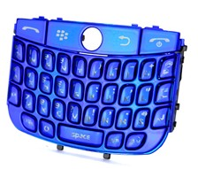keypad keyboard blackberry javelin curve 8900 blue