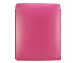 leather pouch sleeve case cover ipad magenta