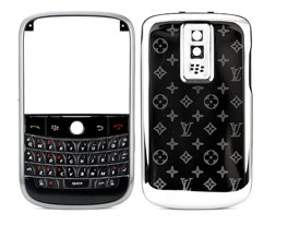 frame silver metal star blackberry bold 9000 housing cover keypad