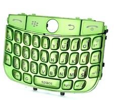 replacement chrome keypad keyboard blackberry javelin curve 8900 green
