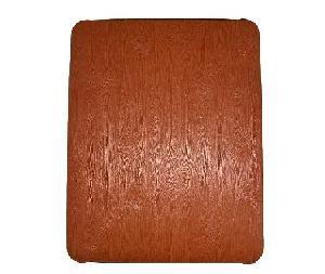 wooden leather skin case ipad purple