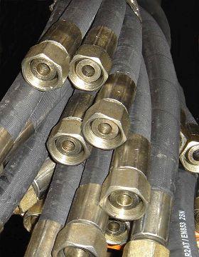 hydraulic rubber hose pressure
