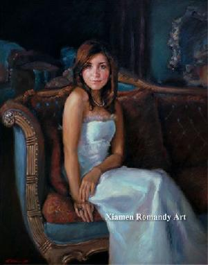 convert photos oil paintings romandy art