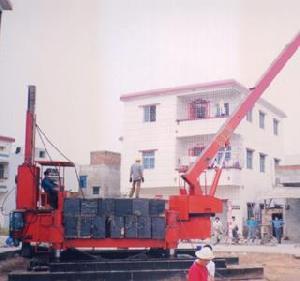 hydraulic sttic pile driver zyc240b
