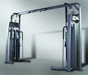 cable crossover fitness equipment sporting body building apparatus