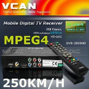 car digital tv receiver box