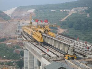 bridge girder erecting machine