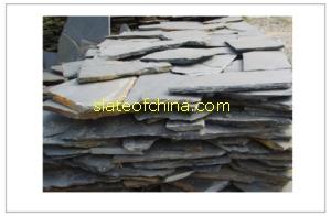 irregular random slate paving tile slateofchina