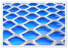 microexpanded metal rhomboidal mesh
