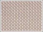 plain weave square mesh