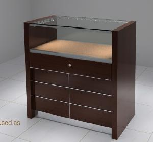 showcase rock collection viewing cabinets jewellery store