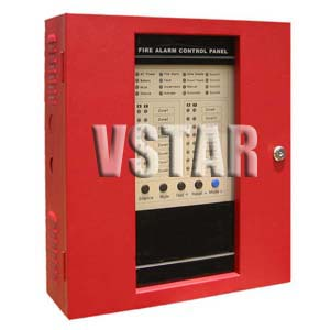 building house office fire alarm control panels f 100 vstar security