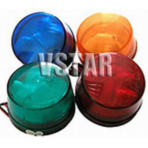 wireless flash lamp siren burglar alarm system