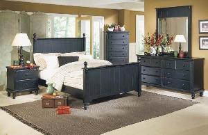 Abf 010 Javanese Bedroom Set Kiln Dry Mahogany Teak Wooden Indoor Furniture