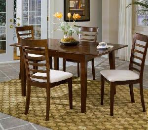 mahogany canada dining seat cushion chair rectangular square table wooden indoor furniture