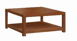 mesa square centro coffee table 90x90x45cm teak mahogany solid wooden indoor furniture