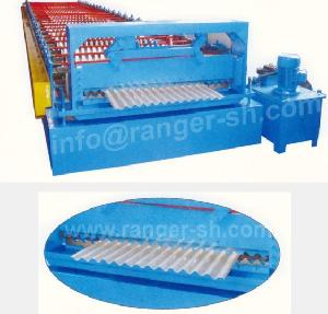 corrugated roll forming machine metal sheet