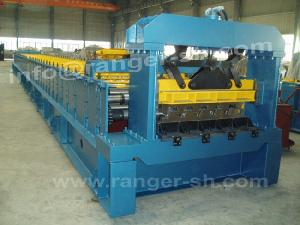 floor deck forming machine metal construction