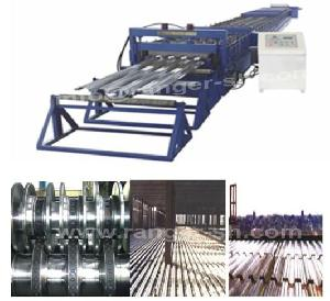 floor deck forming machine steel structural construction