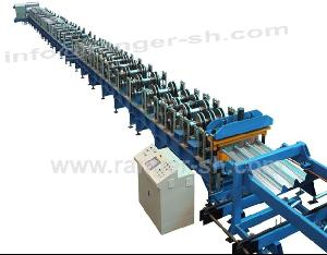 floor deck roll forming machine construction
