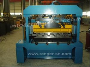 floor deck roll forming machine metal building
