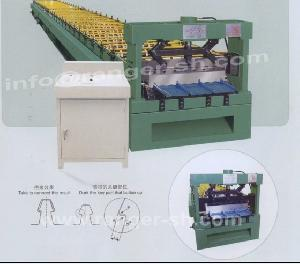 floor deck roll forming machine shanghai allstar