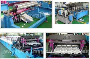 glazed tile forming machine shanghai allstar