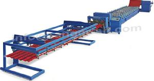 glazed tile roll forming machine profiles steel construction