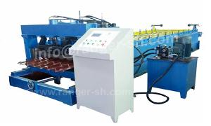 glazed tile roll forming machine steel roofing tiles