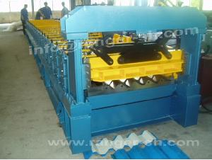 ibr roof sheet forming machine prefab house roll