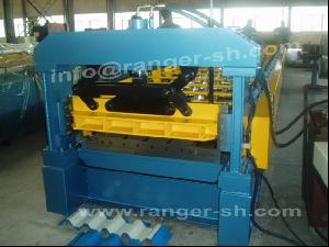 ibr sheet forming machine prefab house roll