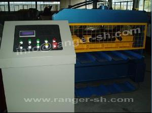 roof sheet forming machine construction roll