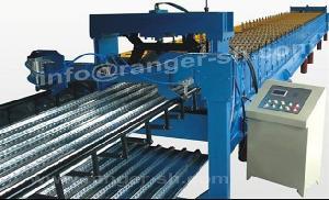 steel floor deck forming machine