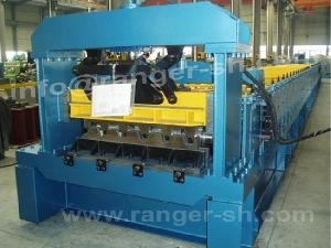 steel floor deck roll forming machine metal structural building