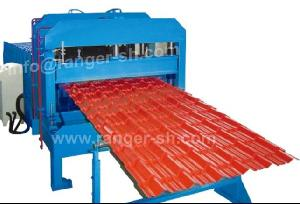step tile forming machine steel glazed roofing