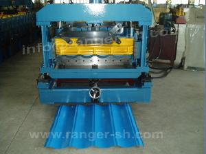 step tile roll forming machine glazed roofing tiles