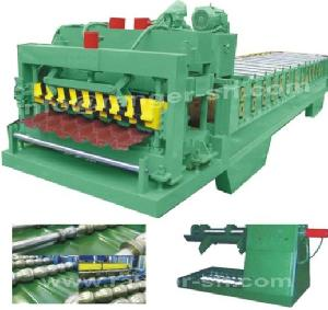 step tile roll forming machine profiles steel construction
