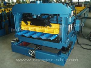 step tile roll forming machine steel roofing tiles