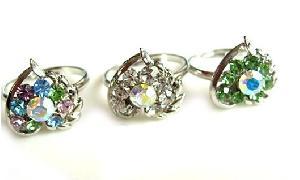 wholesale rhinestone rings