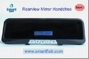 bluetooth car kit rearview mirror