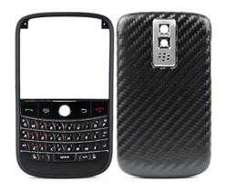 blackberry bold 9000 housing cover keypad matte frame silver oblique stripes