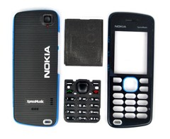 housing faceplate cover nokia 5220 blue